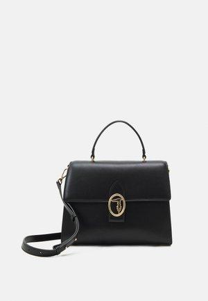 GRACE HANDLE SMOOTH - Handbag - black