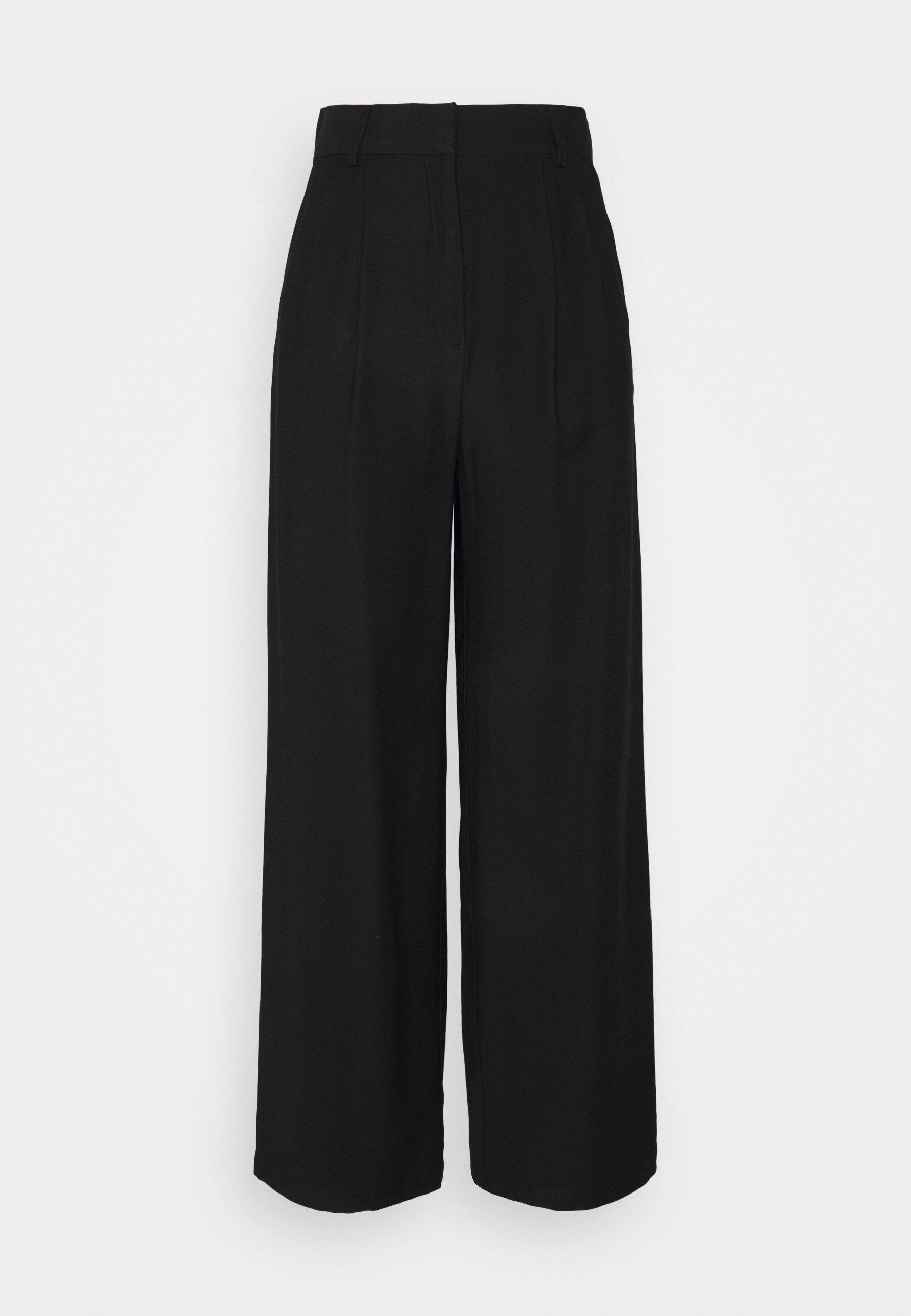 Damen Basic wide leg pants - Stoffhose