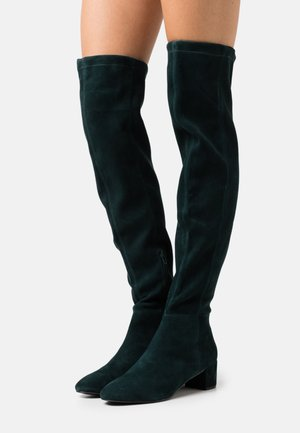 Over-the-knee boots - emeraude