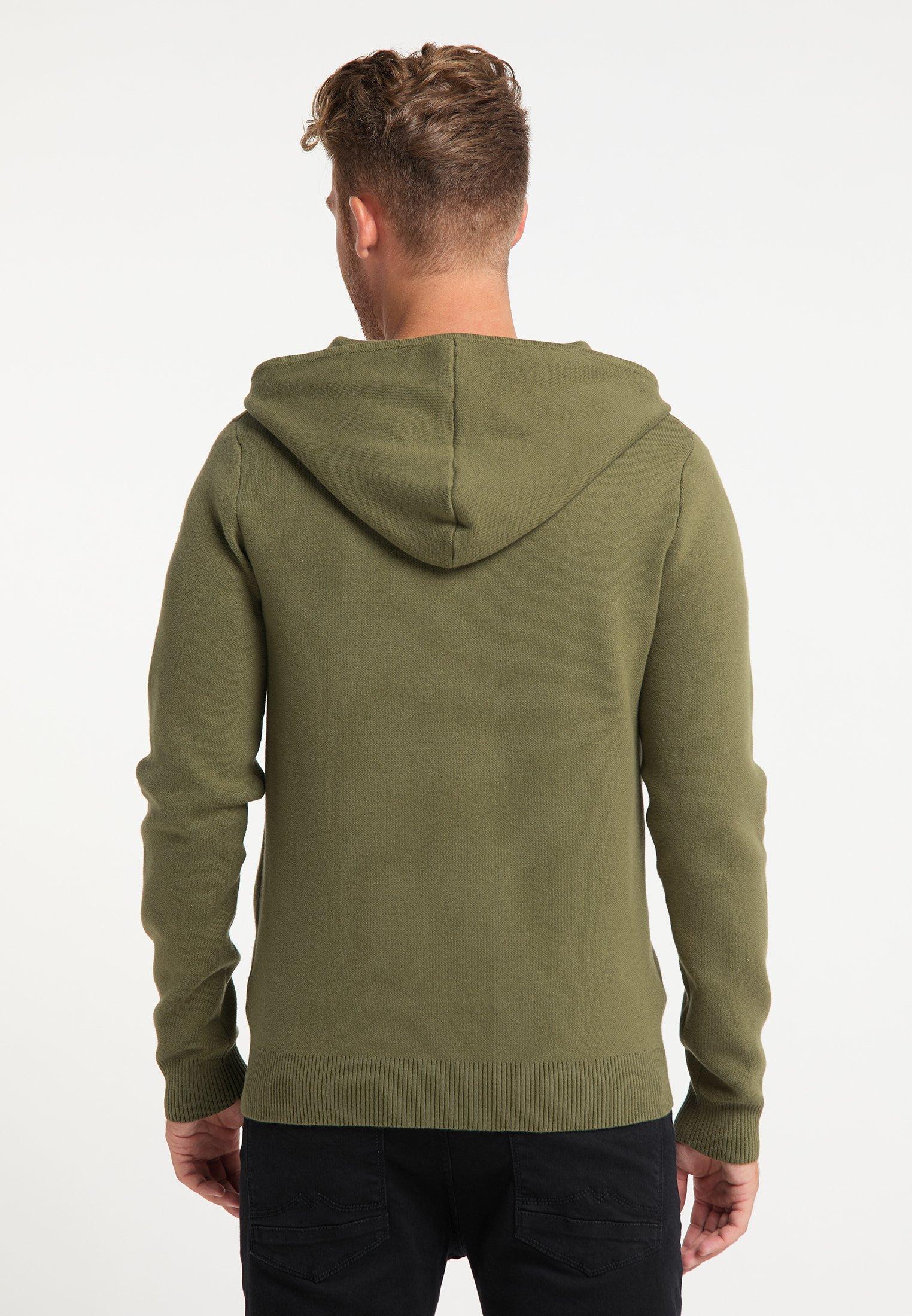 Mo Strickjacke - Militär Grün