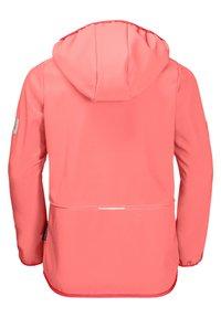 Jack Wolfskin - Soft shell jacket - apricot coral - 1