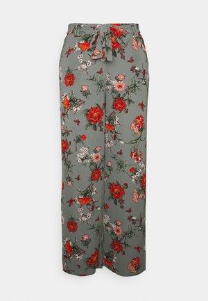 ONLNOVA PALAZZO PANT - Trousers - balsam green