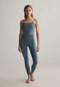 OYSHO - Leggings - blue - 0