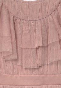 Anaya with love - RUFFLE BIB WITH BOW - Koktejlové šaty/ šaty na párty - frosted pink - 2