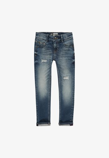 BOSTON  - Slim fit jeans - dark blue stone