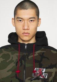 Jordan - Zip-up hoodie - medium olive/black - 3