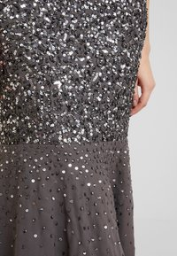 Maya Deluxe - KEYHOLE FRONT ALL OVER EMBELLISHED FISHTAILDRESS - Occasion wear - charcoal - 4