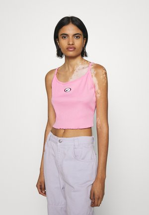 TANK CROP - Top - pink