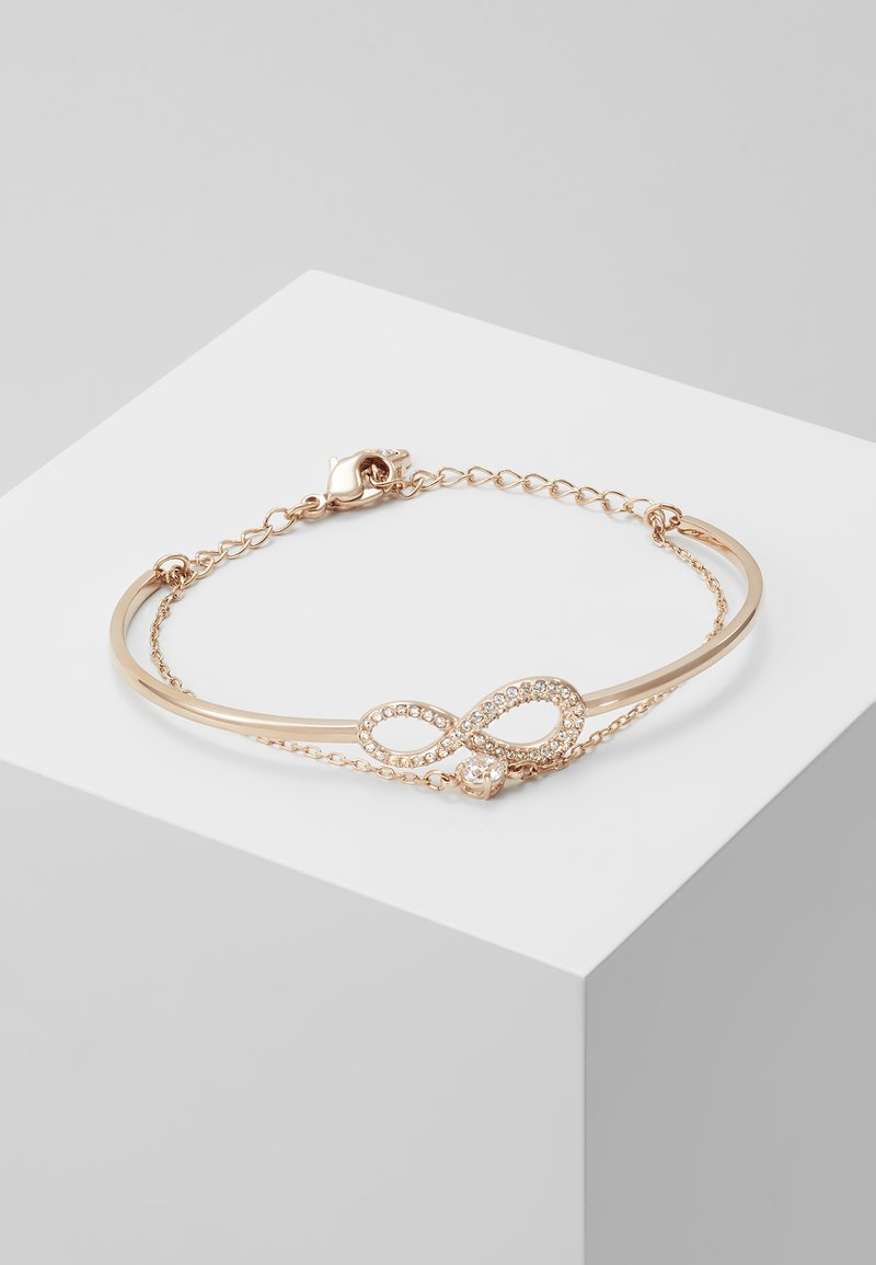 Swarovski - INFINITY BANGLE CHAIN - Bransoletka - silver-coloured