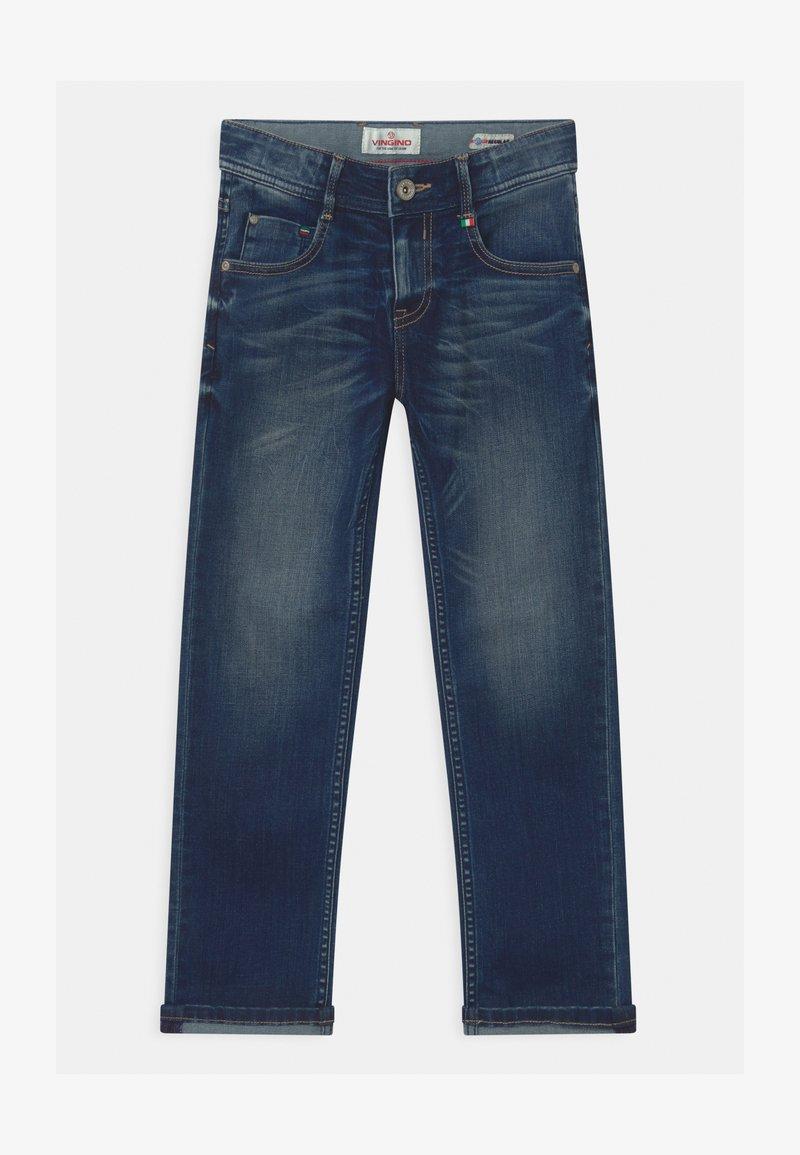 Vingino - BAGGIO - Straight leg jeans - mid blue