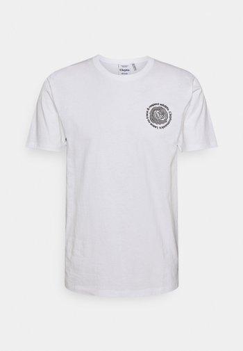 FINGERPRINTS - Print T-shirt - white