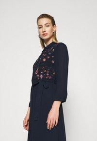 YAS - YASSAVANNA DRESS - Maxi dress - dark sapphire - 4