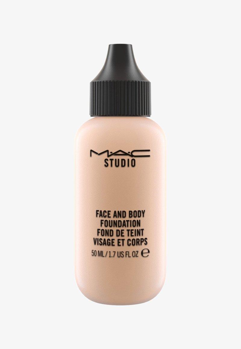 MAC - STUDIO FACE AND BODY FOUNDATION 50ML - Foundation - N3