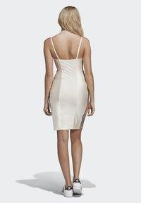 adidas Originals - PAOLINA RUSSO COLLAB SPORTS INSPIRED SLIM DRESS - Sukienka etui - chalk white - 2