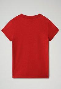 Napapijri - SEJI - T-shirt con stampa - old red - 1