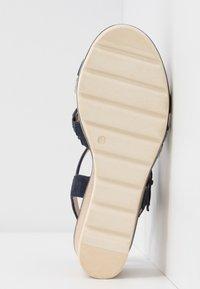 Caprice - Wedge sandals - ocean - 6