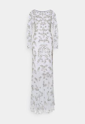 ALL OVER FLORAL DRESS - Occasion wear - ivory