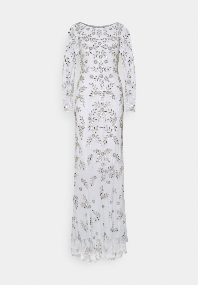 ALL OVER FLORAL DRESS - Iltapuku - ivory