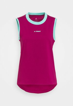 TERREX GRAPHIC TANK - Toppi - power berry