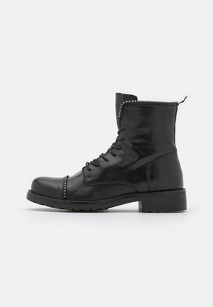COLE - Lace-up ankle boots - noir
