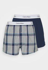 Calvin Klein Underwear - MODERN BOXER SLIM 2 PACK - Boxershorts - grey - 4