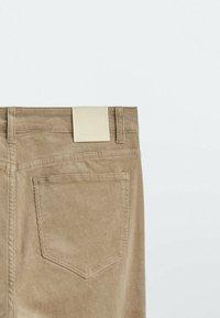 Massimo Dutti - Straight leg jeans - ochre - 3