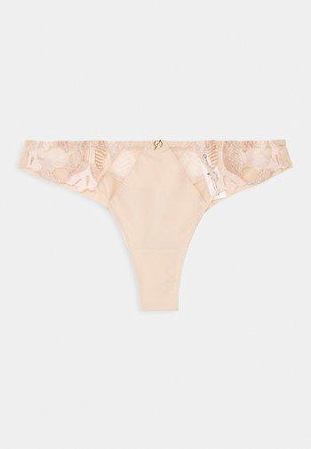 MONTAIGNE TANGA - Stringit - rose sable