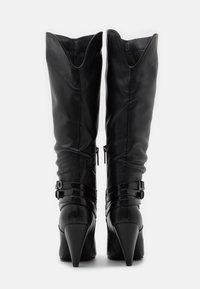 Liu Jo Jeans - SUZIE  - High heeled boots - black - 3