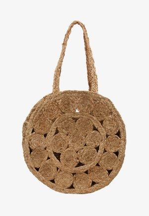 ONLJOHANNE FLOWER - Shopping bag - natural