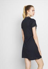 Luhta - HONKOLA - Jersey dress - dark blue - 2