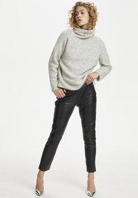 Denim Hunter - Leather trousers - black - 1