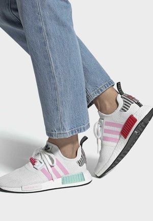 NMD_R1 W - Sneakers basse - ftwwht/trupnk/cblack