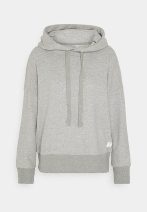 LONGSLEEVE HOODED - Sweatshirt - cloudy melange