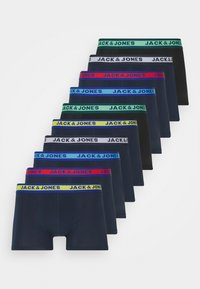 JACSOLID TRUNKS 10 PACK - Pants - navy blazer/navy
