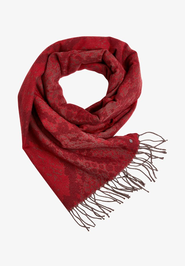 SNAKE-MUSTER - Sjaal - garnet red