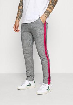 CHECK JOGGER - Teplákové kalhoty - grey