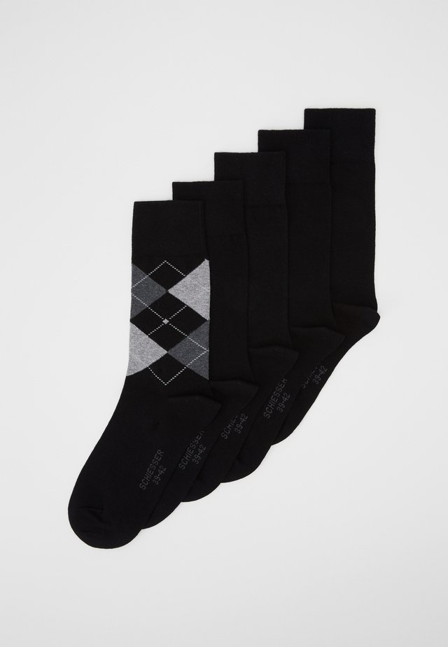 5 PACK - Socks - black