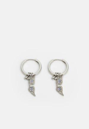 MILA TWIST MINI - Øreringe - shiny silver-coloured