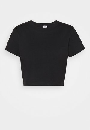 THE BABY TEE - T-shirts med print - black