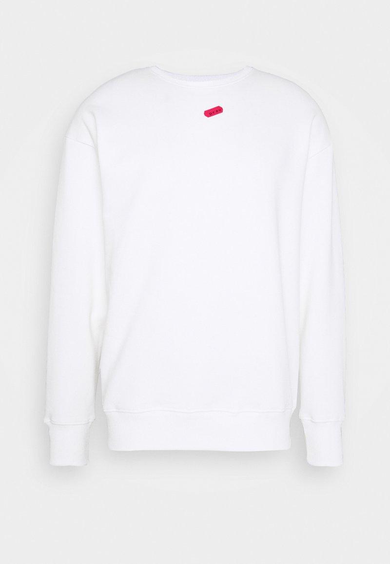 PRAY - UNISEX NO SIGNAL LONG SLEEVE - Sweatshirt - white