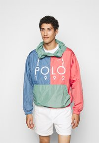 Polo Ralph Lauren - COLOR BLOCK - Windbreaker - green/blue - 0