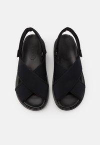 Marni - FUSSBETT SHOE - Sandales - black - 3