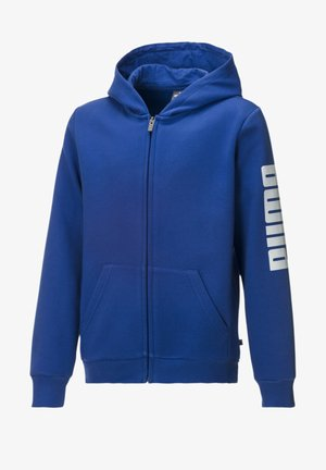 Zip-up hoodie - surf the web-puma white