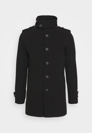 SLHNOAH COAT - Kappa / rock - black