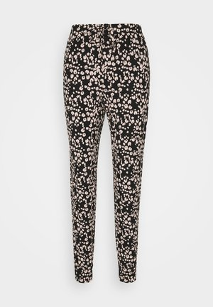 PANT PAINTED LEOPARD - Pyjamabroek - black