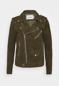 Deadwood - RIVER - Leather jacket - gobi - 4
