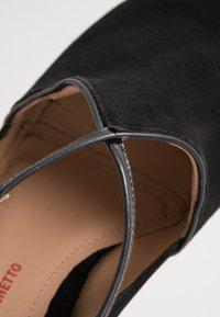 PERLATO - Classic heels - venus noir - 2