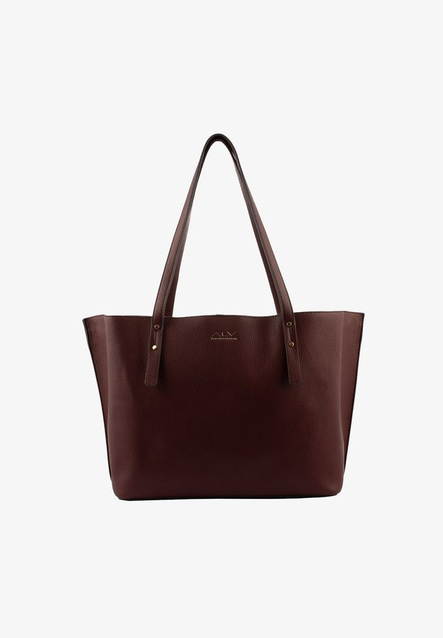 Shopping bag - bordeaux