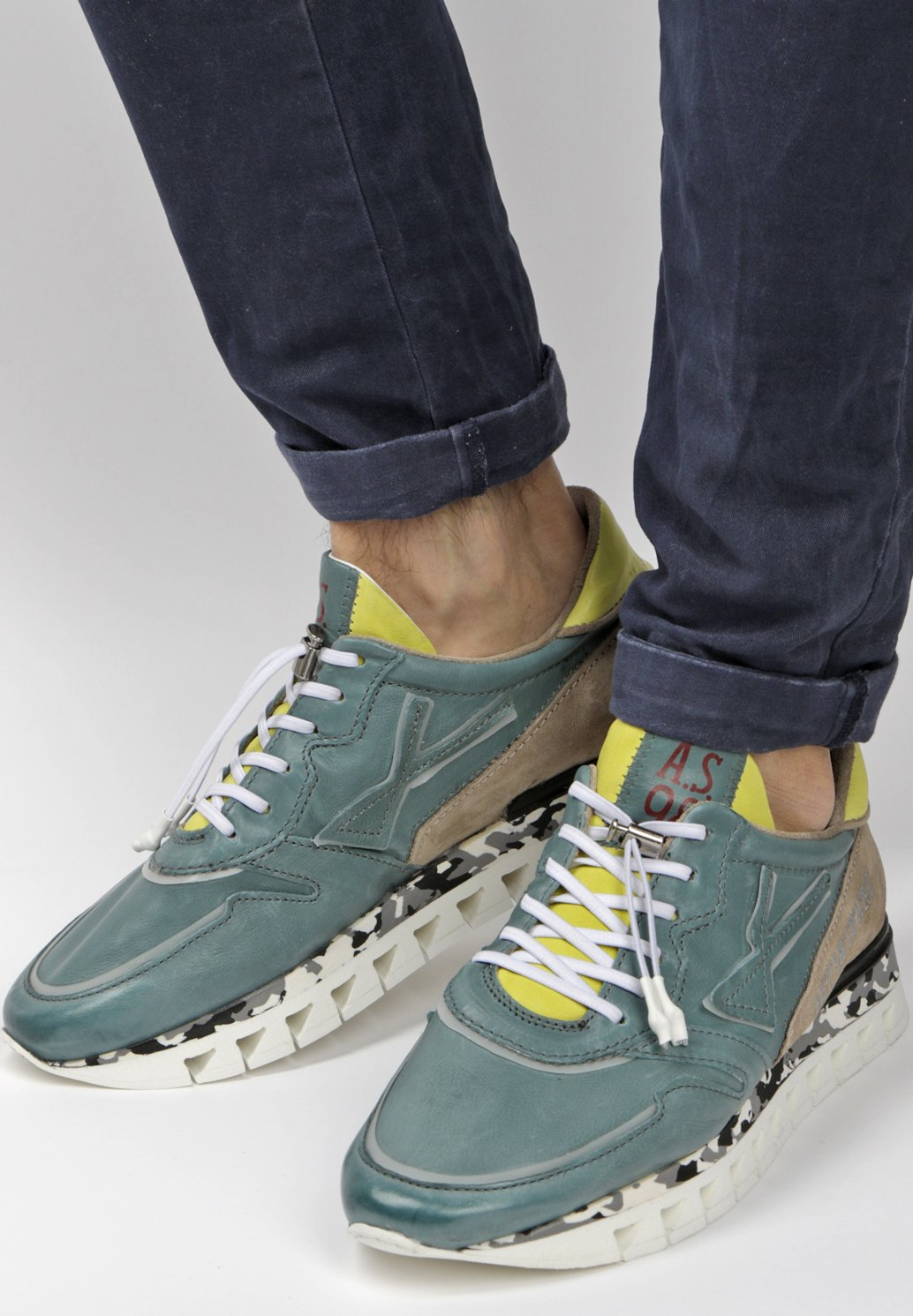 Geringster Preis A.S.98 Sneaker low - green | Damenbekleidung 2020