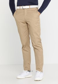 Lyle & Scott - TROUSER - Chinos - dark sand - 0